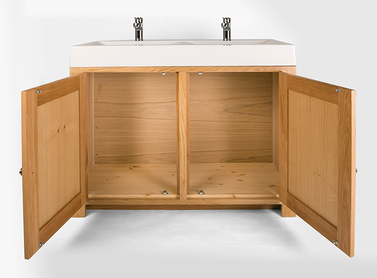 Bathroom vanity cabinets and washstands image gallery from Double sink washstand