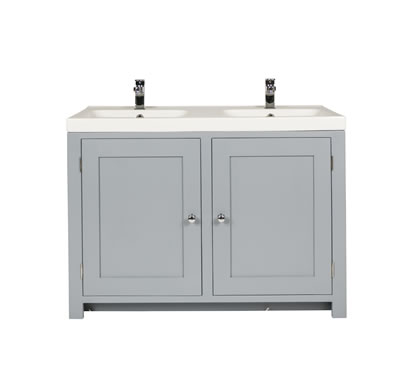 Bathroom vanity cabinets with overlay sink freestanding Double sink washstand